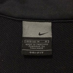 Nike Tops - Nike Soccer jacket. Black